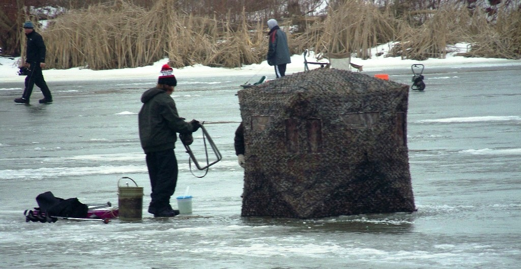 Free Ice Fishing House Plans